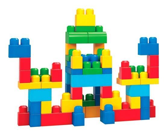 Купить Big Building Bag, Конструктор Mega bloks DCH55 60 деталей в ассортименте, Конструкторы пластмассовые