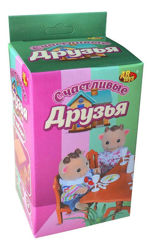 Набор мебели ABtoys Счастливые друзья для столовой pt-00302