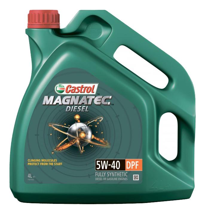 Моторное масло Castrol Magnatec Diesel 5W-40 4л
