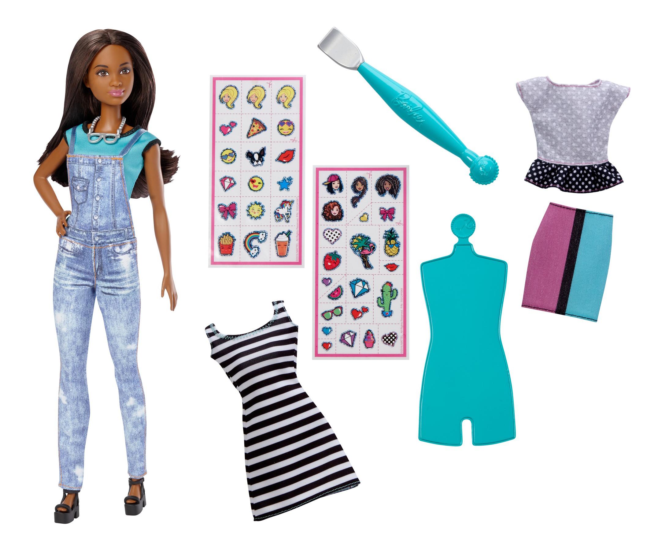 Купить Игровой набор с куклой Barbie EMOJI DYN92 DYN94, Куклы Barbie