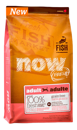 NOW NATURAL HOLISTIC FISH ADULT DF