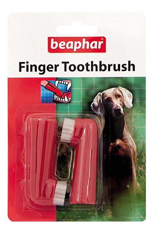 Зубная щетка для животных Beaphar Finger Toothbrush