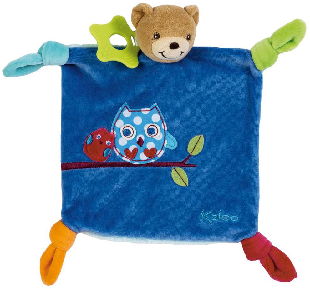 Купить Мишка, Комфортер Kaloo Мишка с вышивкой Сова Цвета, Комфортеры для новорожденных