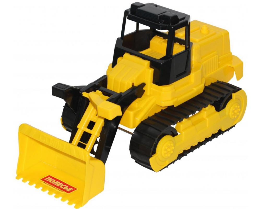 Гусеничный трактор-погрузчик Полесье фото