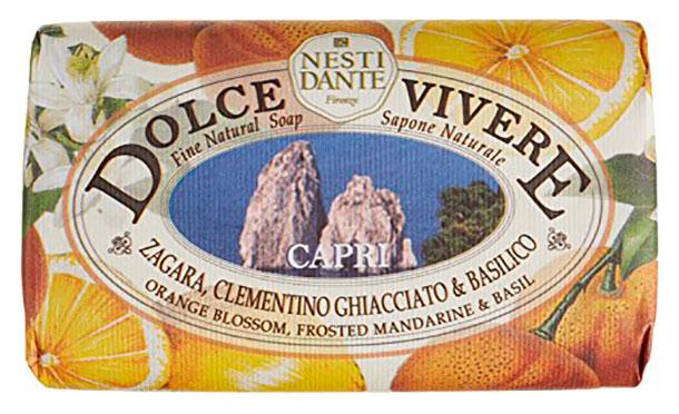 Косметическое мыло Nesti Dante Dolce Vivere Capri (Капри) 250 гр