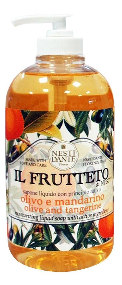 Жидкое мыло Il Frutteto Оливковое масло и мандарин 500 мл
