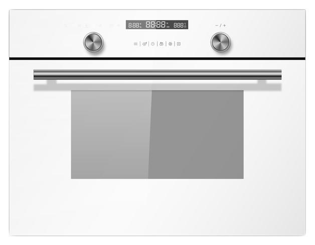 Встраиваемый электрический духовой шкаф Midea TF944EG9-WH White фото