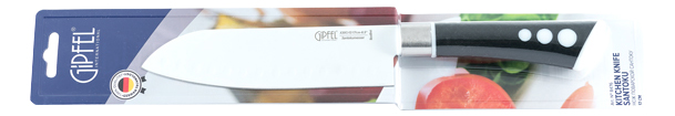 Нож кухонный GIPFEL 8476 17 см фото