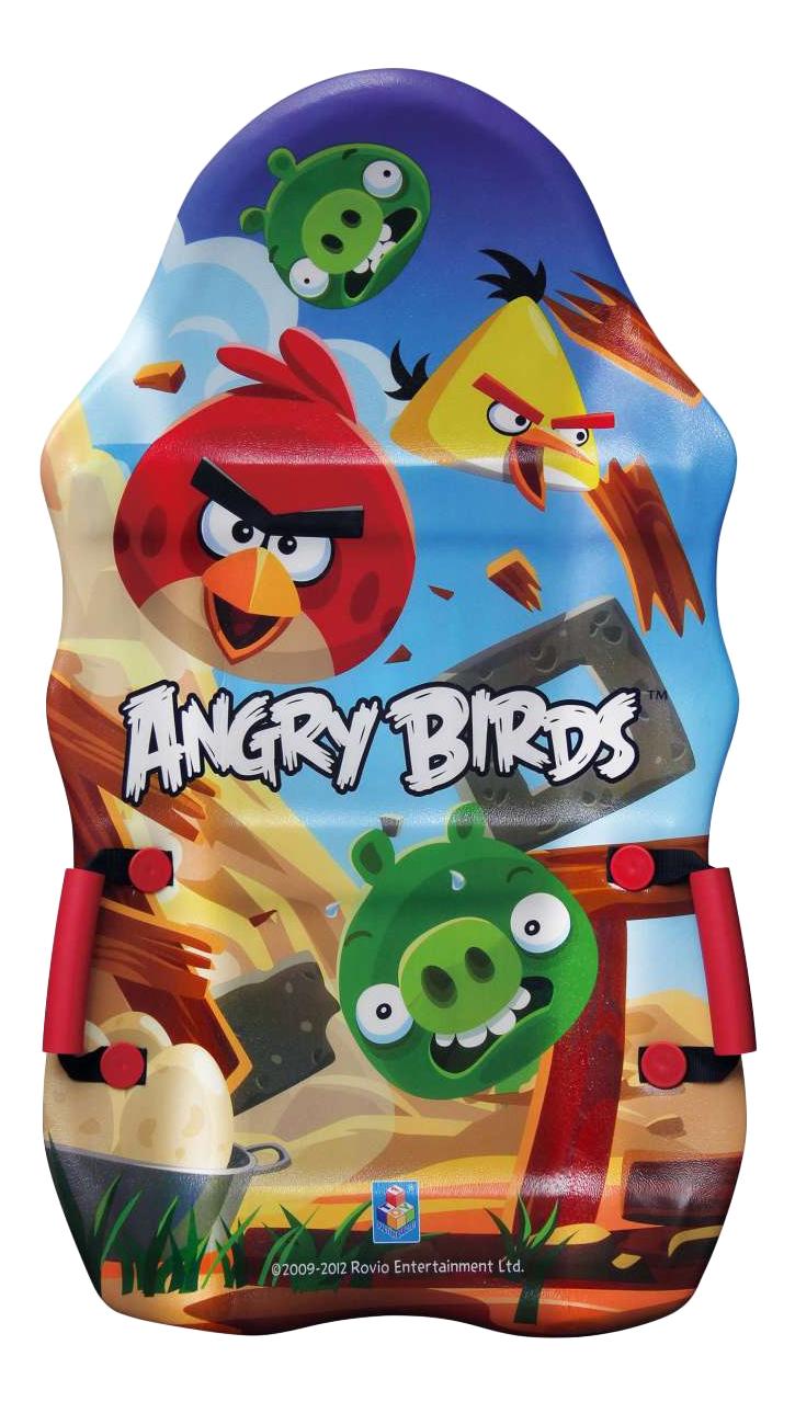 Купить Ледянка детская 1TOY Angry Birds выпуклая с ручками, 94 см, 1 TOY, Ледянки