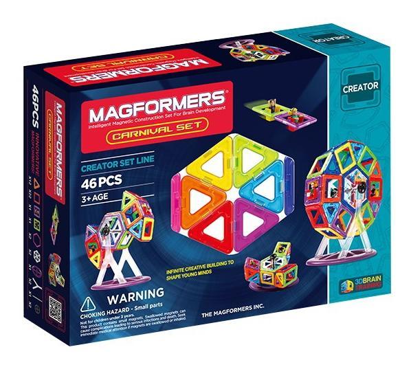 Купить Carnaval, Конструктор магнитный Magformers Набор карнавал, Магнитные конструкторы