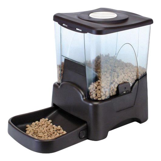 Автокормушка для кошек и собак Feed-Ex, возможна запись голосового сообщения, 10.5 л