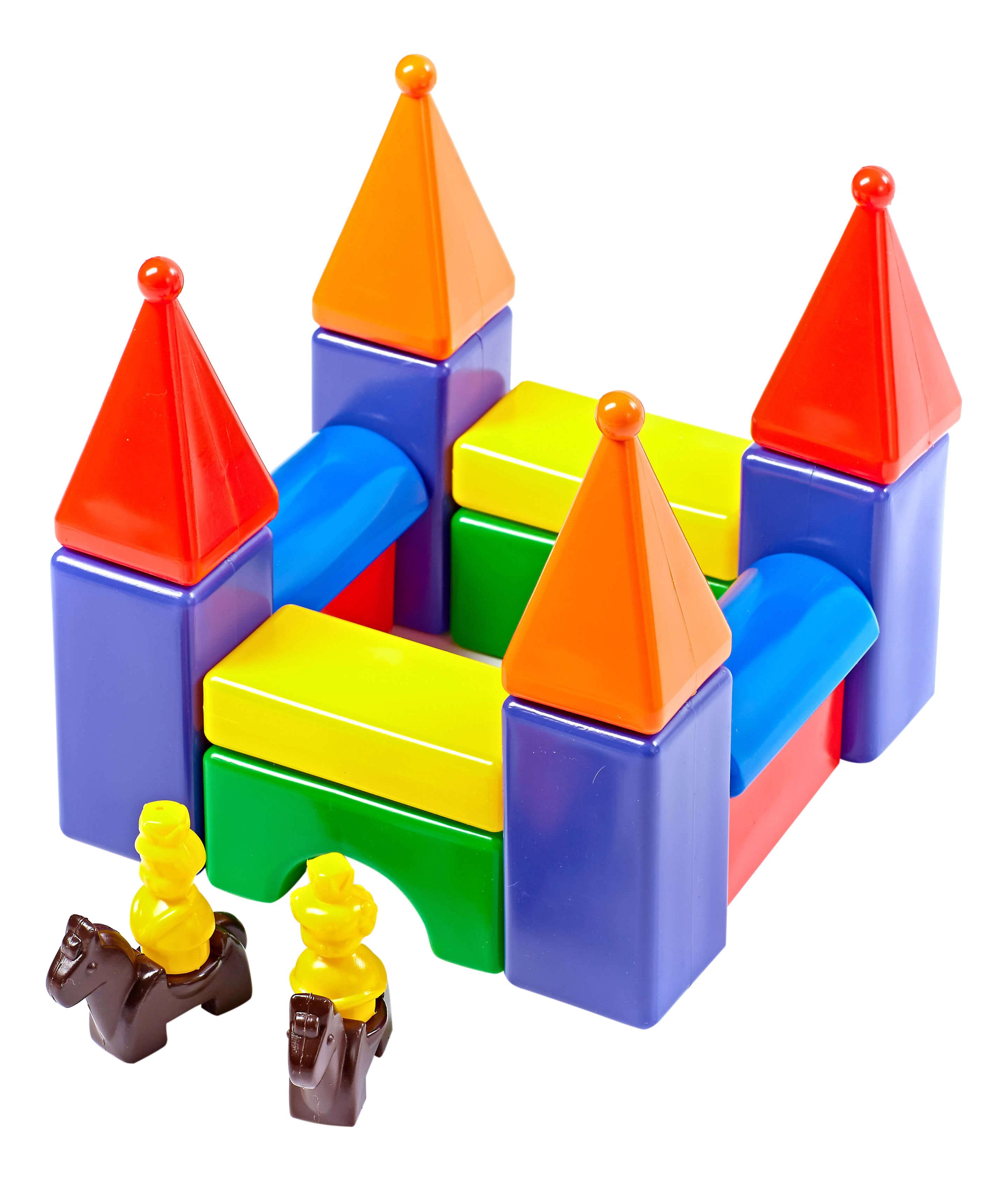 Конструктор для малышей Строим вместе счастливое детство Застава-2 5252