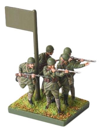Модели для сборки Zvezda Советская Пехота 1941-1943 фото