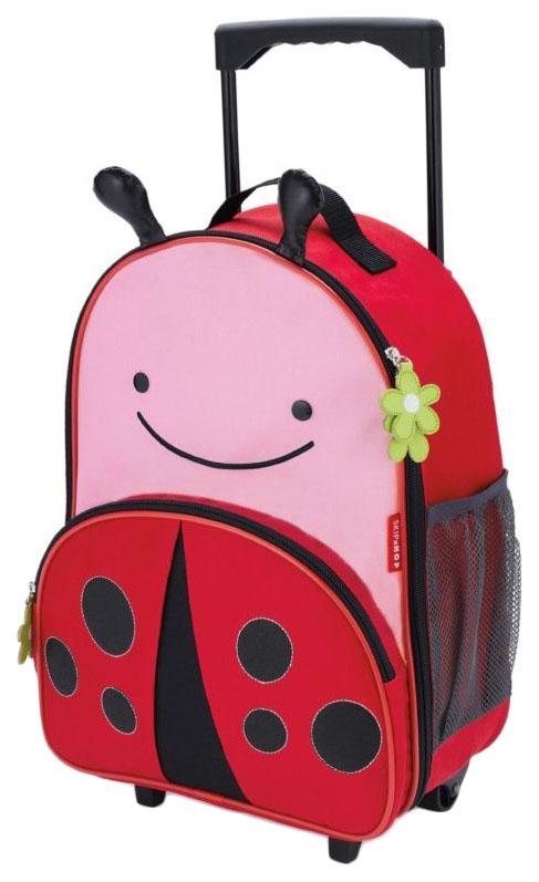 Купить Чемодан детский Skip Hop Zoo Luggage Божья коровка SH 212310,