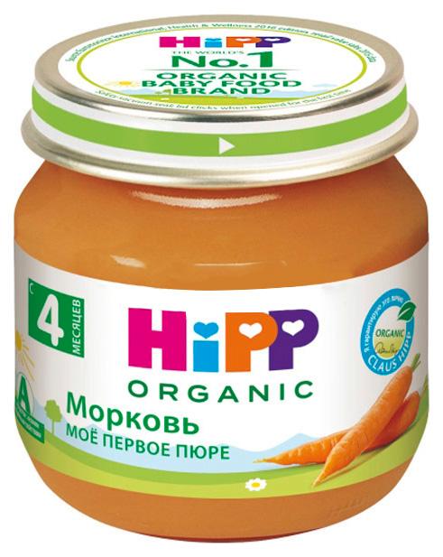 Пюре овощное HiPP Морковь ранняя c