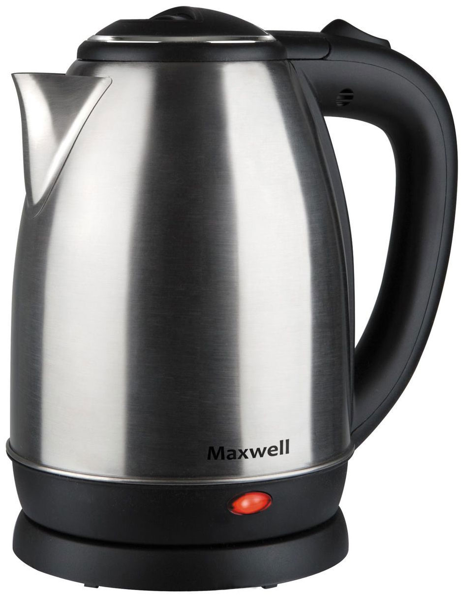 Чайник электрический Maxwell MW 1081ST Black/Silver