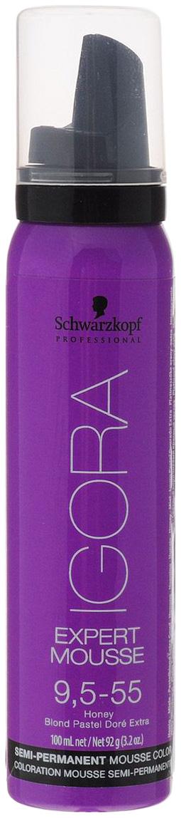Купить Мусс для волос Schwarzkopf Professional Тонирующий мусс 9, 5-55