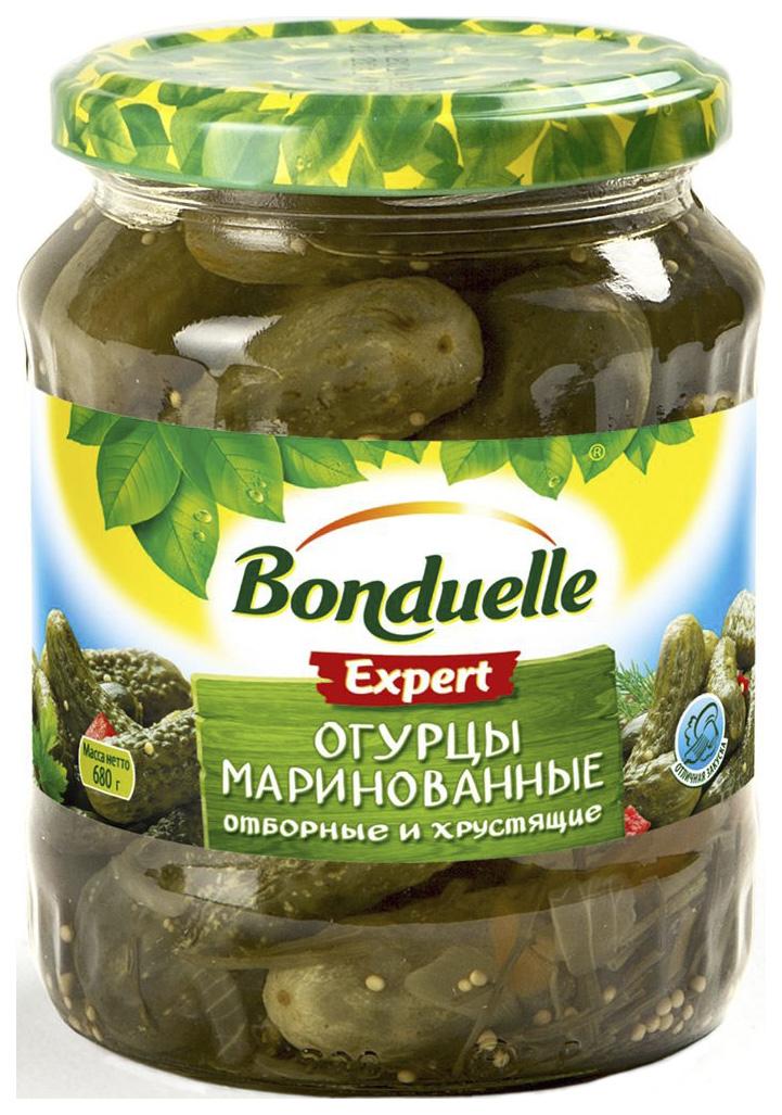 Огурцы Bonduelle маринованные 6-9см 680 г