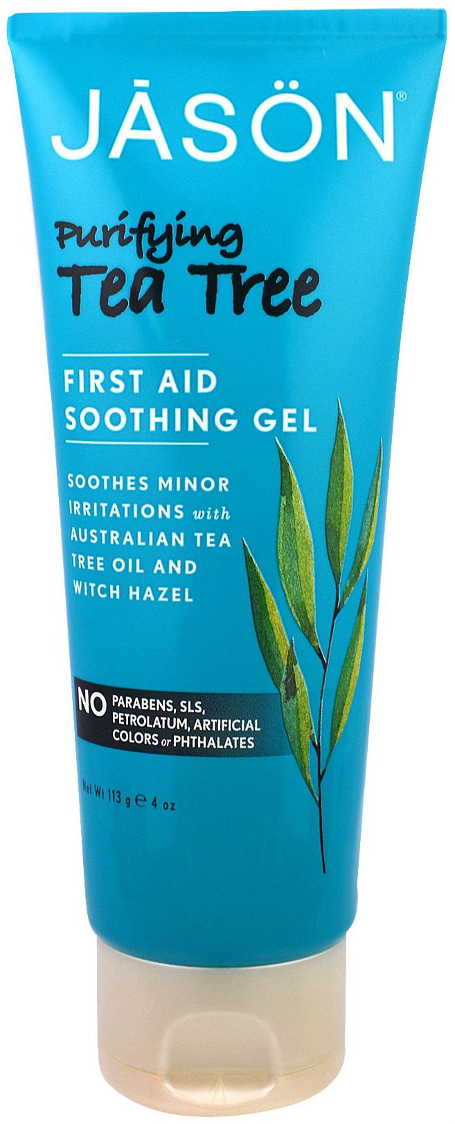 Успокаивающий гель с маслом чайного дерева Jason Purifying Tea Tree First Aid Soothing Gel
