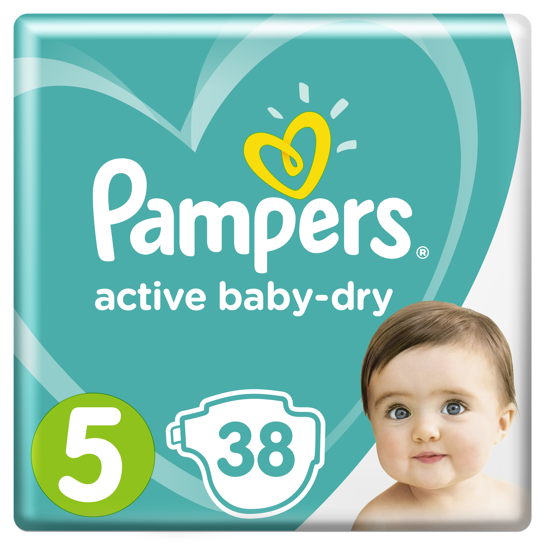 Подгузники Pampers Active Baby Dry Junior