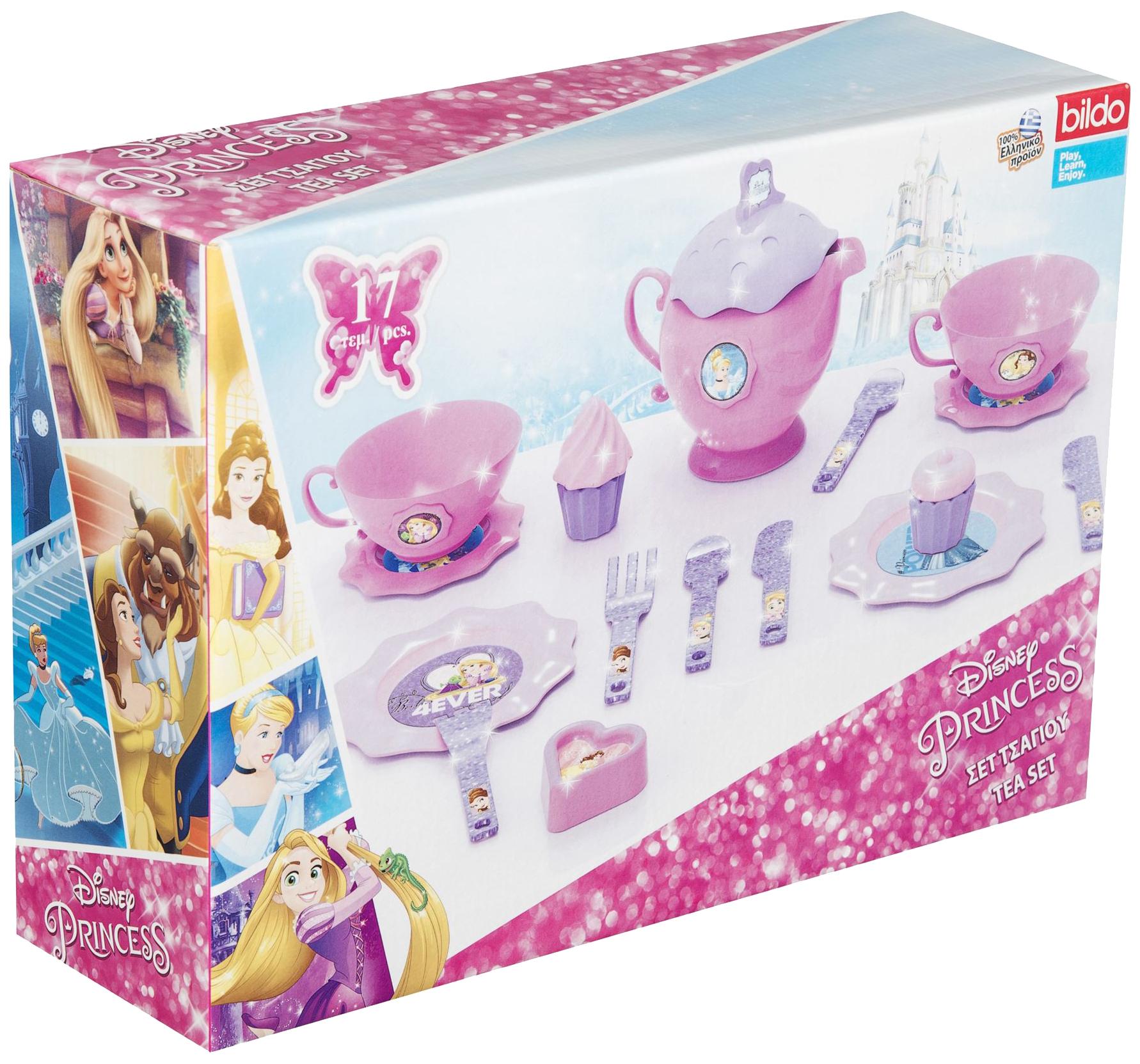 Набор посуды игрушечный Bildo Disney Princess Small