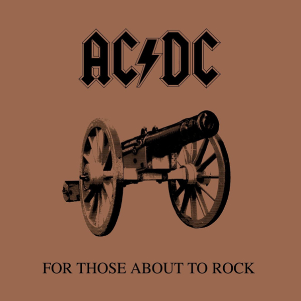 Виниловая пластинка AC/DC FOR THOSE ABOUT TO ROCK (WE SALUTE YOU) (Remastered/180 Gram)