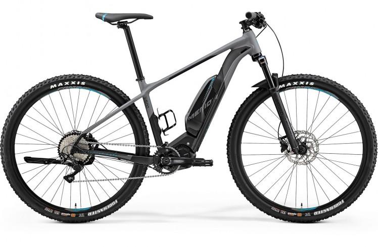 """Электровелосипед Merida eBIG.Nine 500 2019 21"""" серый"""