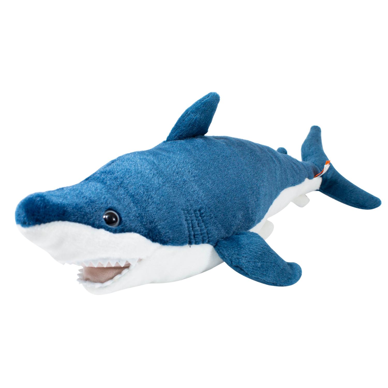 Купить Мягкая игрушка Wild republic Акула Мака 58 см 22473, Мягкие игрушки животные