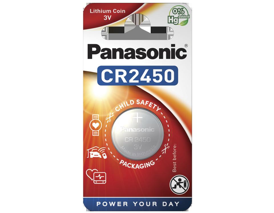 Батарейка Panasonic CR 2450EL/1B 1 шт