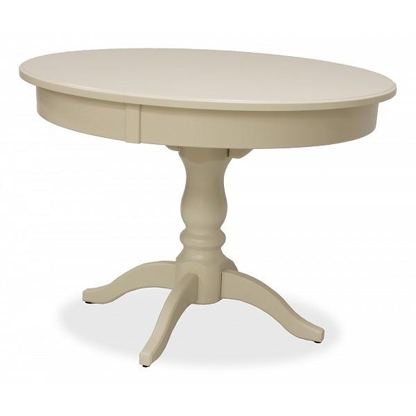 Кухонный стол Leset Стол обеденный Мичиган 2Р 100-140х100х76 см слоновая кость