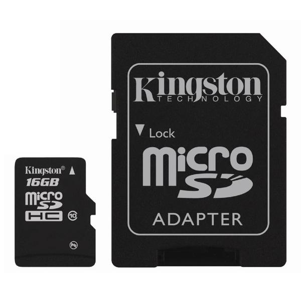 Карта памяти Kingston Micro SDHC SDC100 16GB