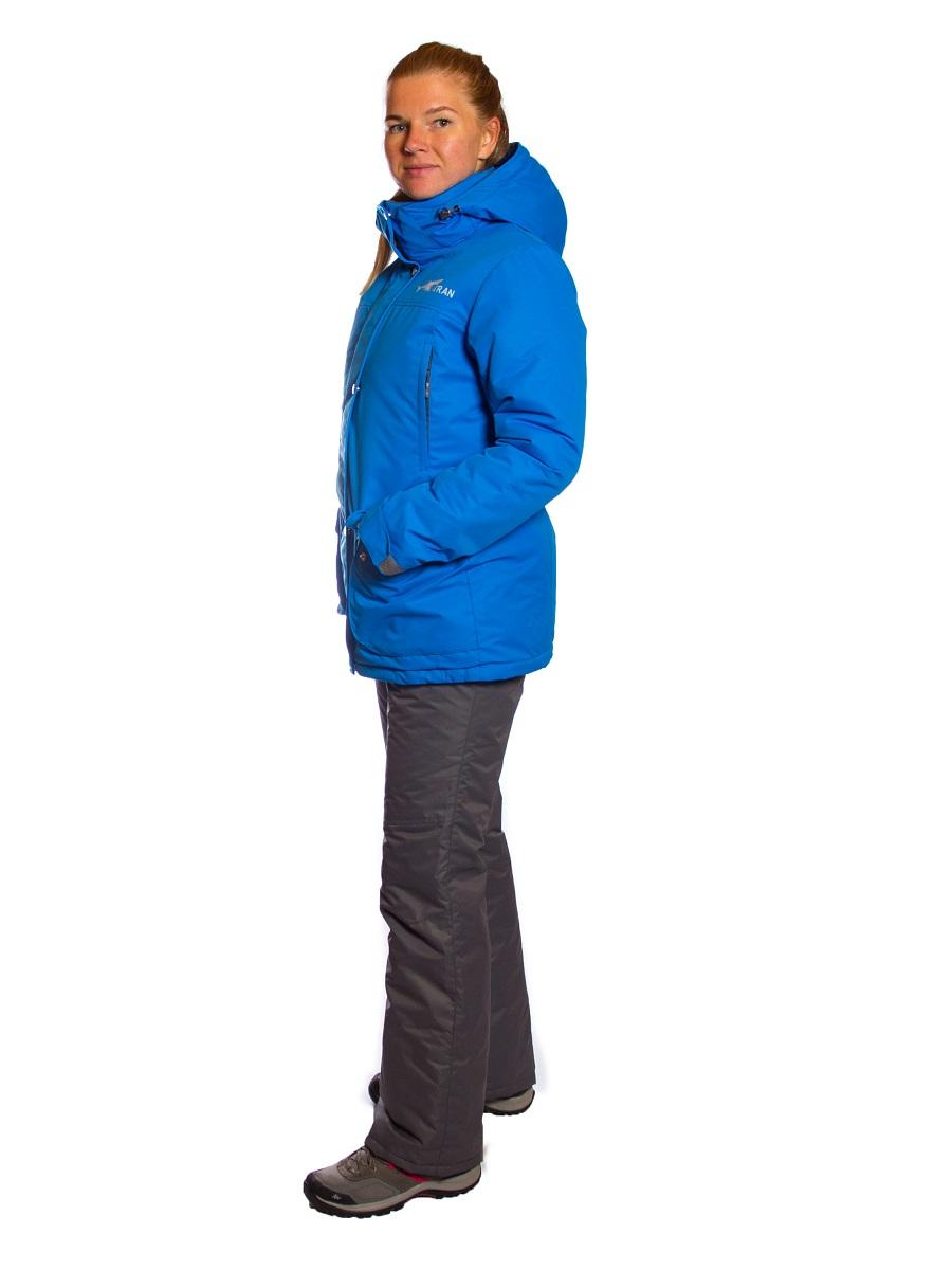 Зимний женский костюм KATRAN Сальвия -35 С таслан, голубой, 52-54, 158-164