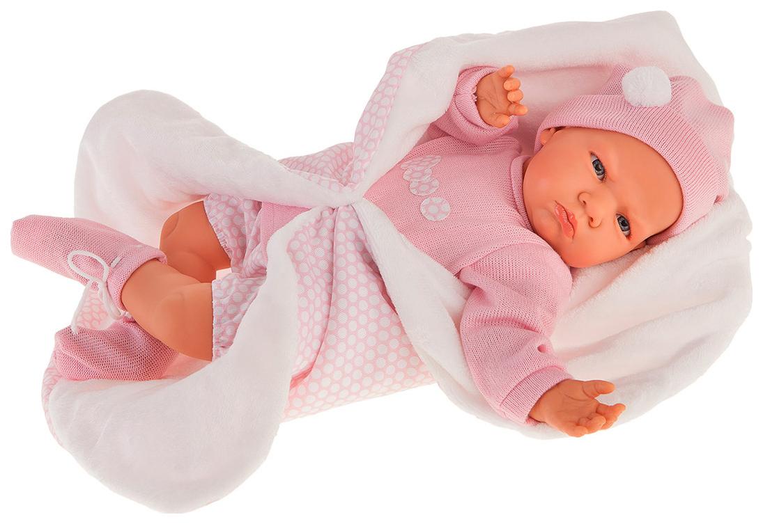 Купить Кукла Эдурне , в розовом (52 см), Antonio Juan, Классические куклы