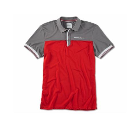 Мужская рубашка поло BMW 80142460943 Red/Grey/White