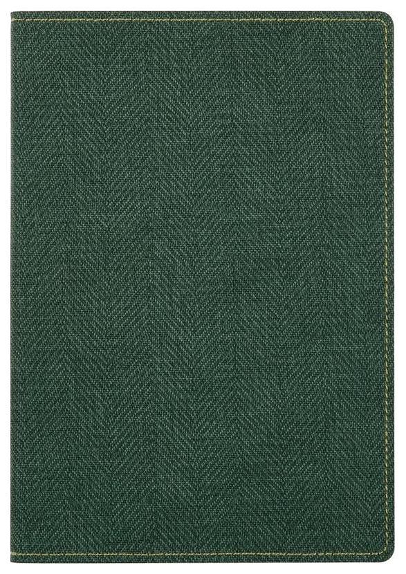 Ежедневник недатированный InФормат «Твид», А5, 176 листов, зеленый
