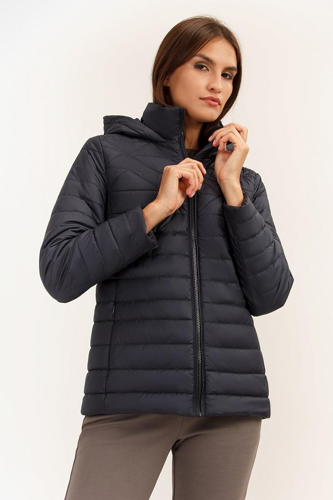 Куртка женская Finn Flare A19-12017 синяя S фото