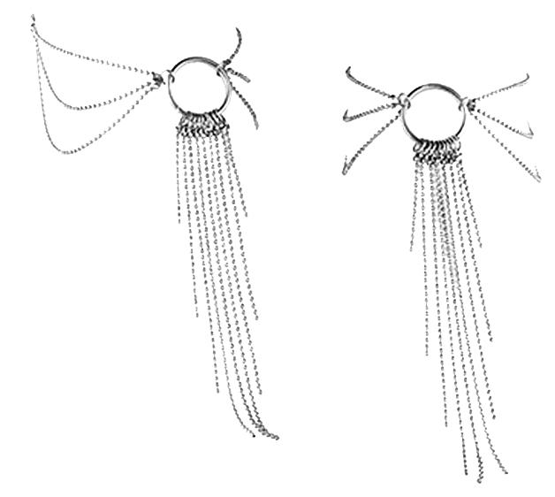 Цепочка на щиколотку Bijoux Indiscrets Magnifique Feet Chain Silver