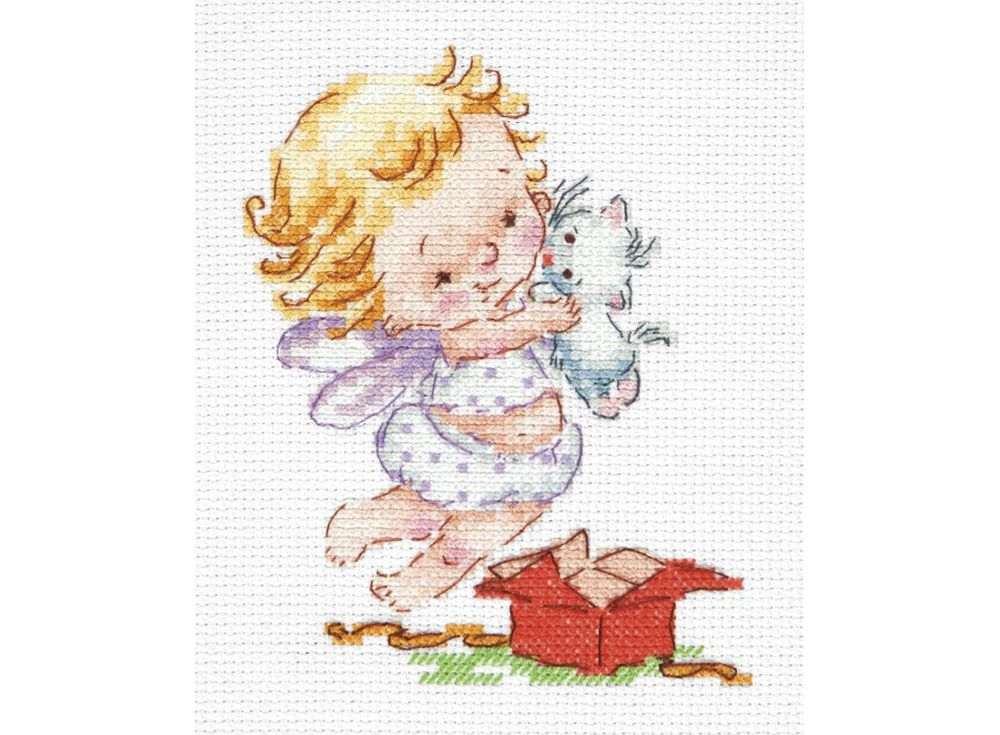 Набор для вышивания Чудесная игла Люблю подарочки!, арт.137351