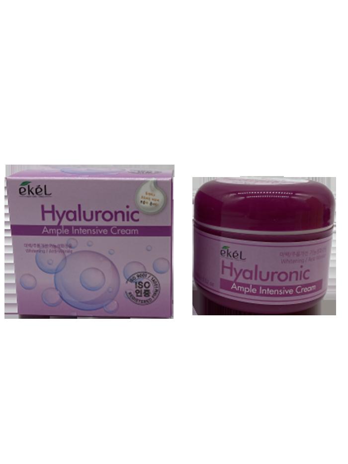 Купить Крем для лица Ekel HYALURONIC ACID AMPULE INTENSIVE CREAM 100 гр