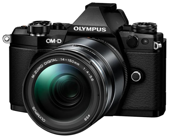 Фотоаппарат системный Olympus E-M5 Mark III Black+14-150 II Black фото