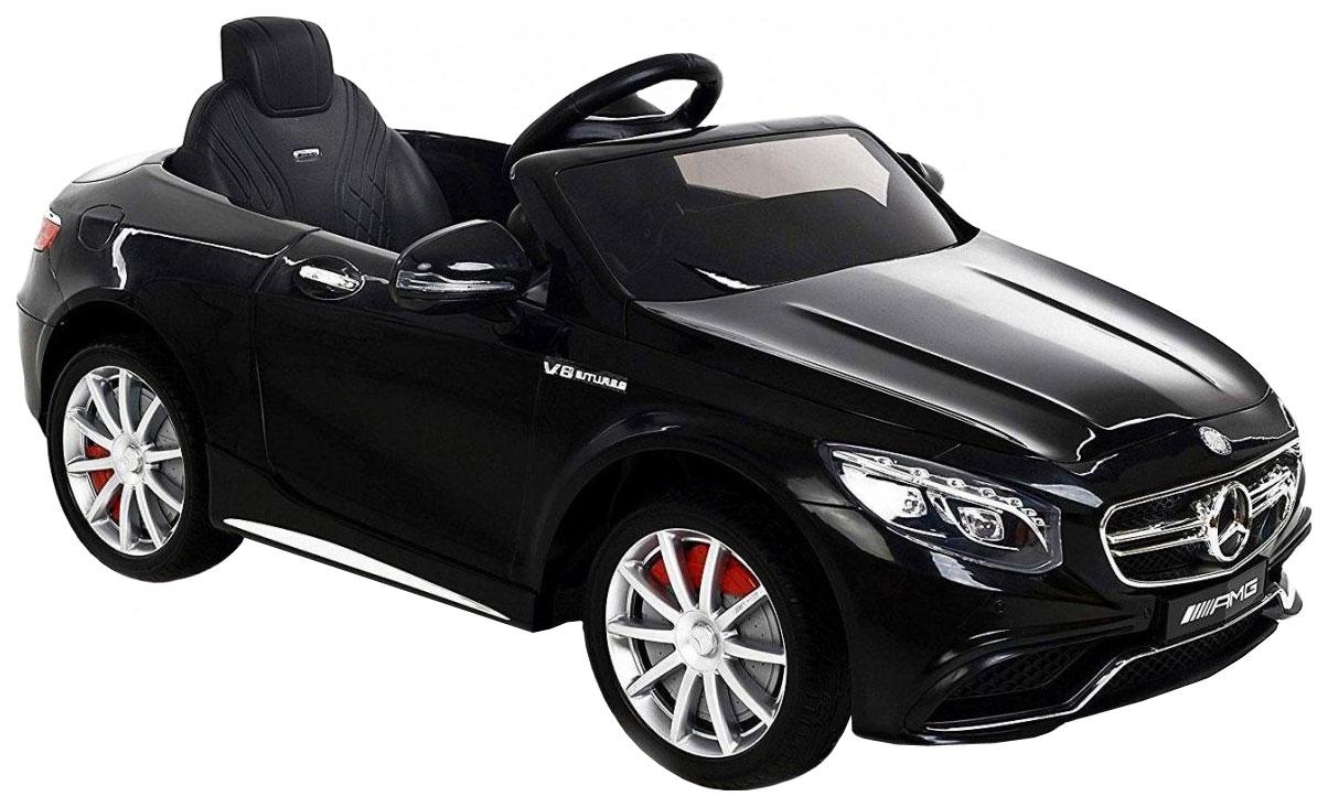 Купить Электромобиль Harleybella Mercedes-Benz S63 AMG 12V черный,