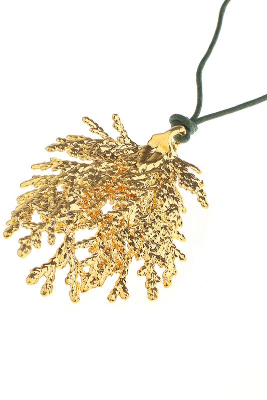 Колье Ester Bijoux LF28A-G BR золотое.