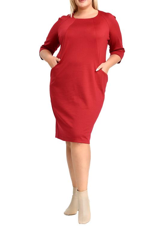 Платье женское SVESTA R958ROUF красное 52 RU фото