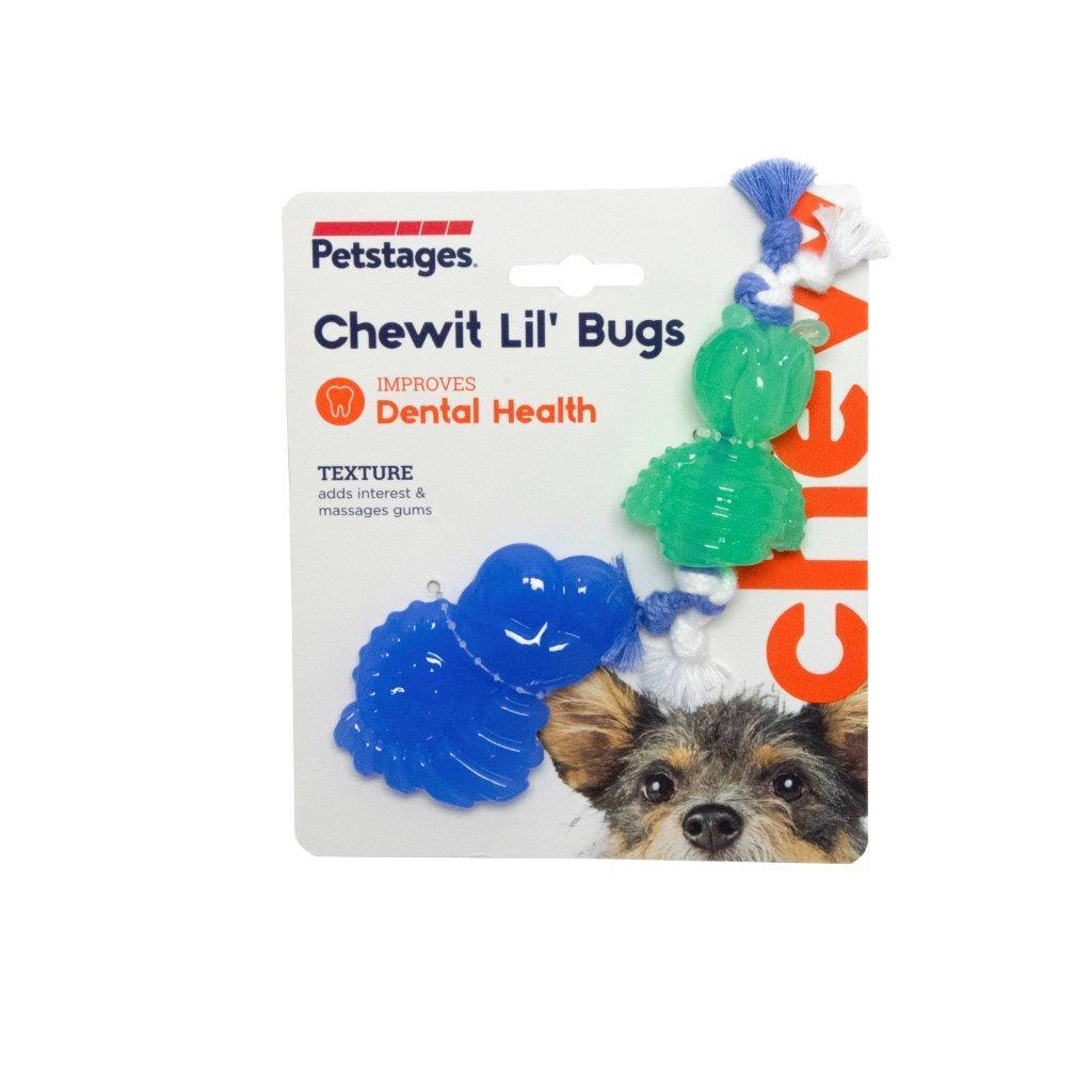 Жевательная игрушка для собак Petstages Mini ОРКА жуки, пара, 15 см