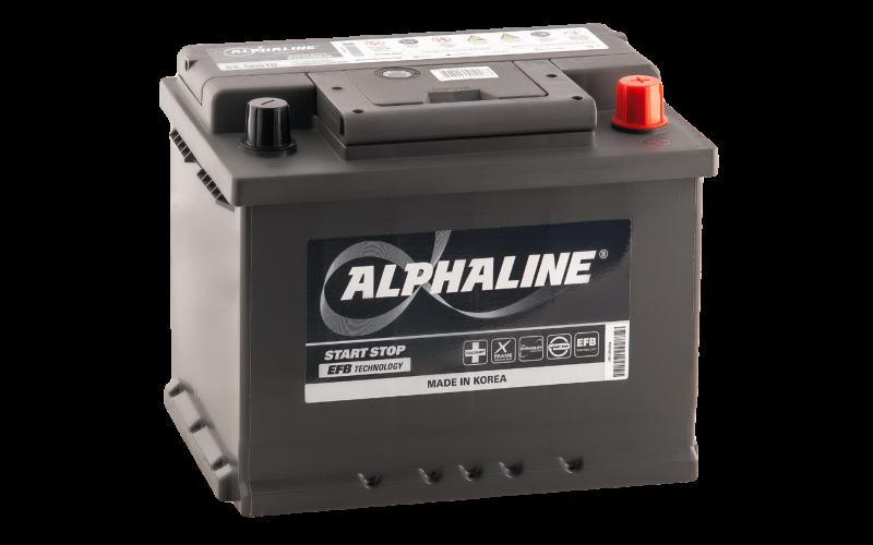 Аккумулятор ALPHALINE EFB 60R фото