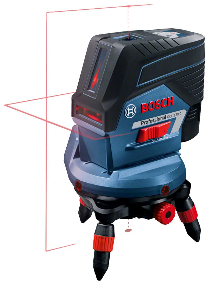 BOSCH GCL 2-50 C+RM3 (12 V), BM 3 CLIP, RC 2, L-BOXX