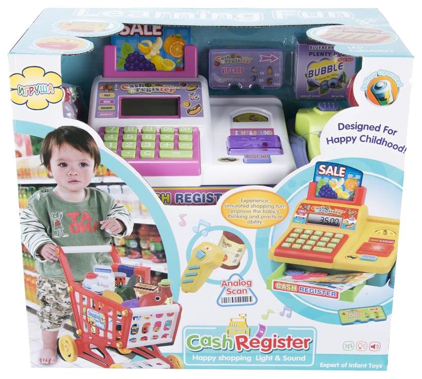Касса игрушечная Игруша 4961