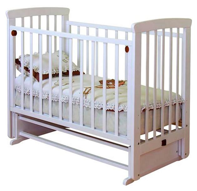 Кровать детская Красная Звезда Марина С 700 Белый