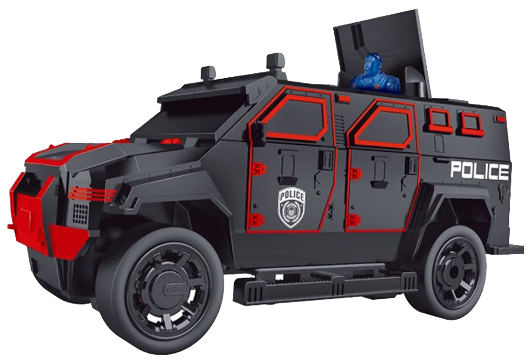 Джип Полиция Р/У На Аккумуляторе со светом