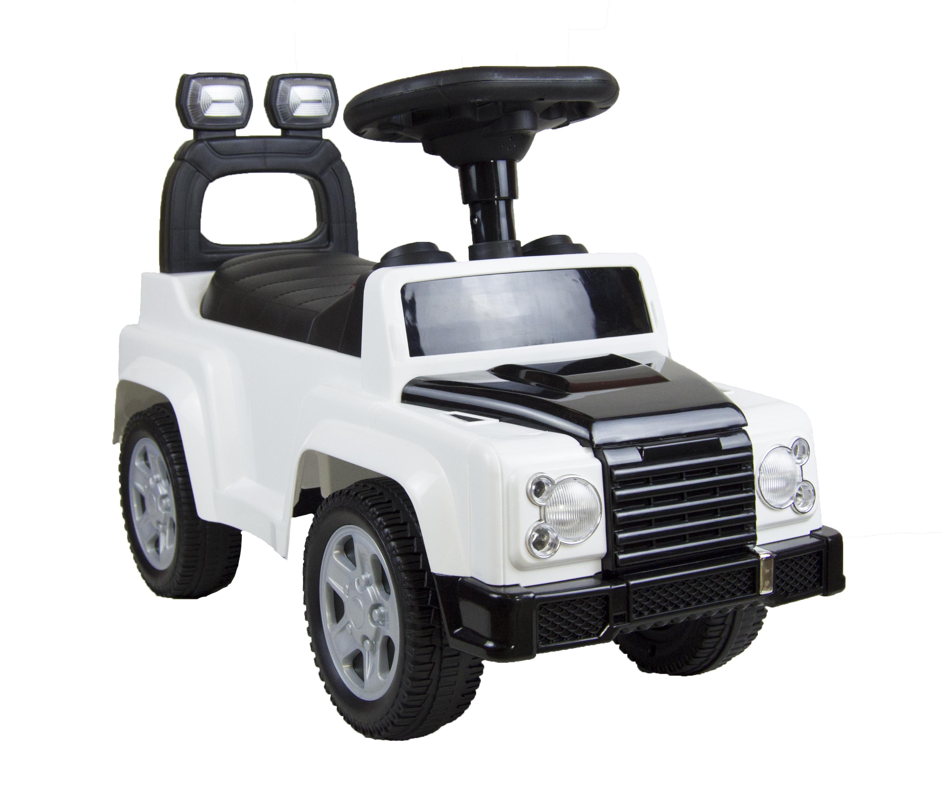Купить Средняя, Машина-каталка Tommy ROC 105 белый, Каталки детские